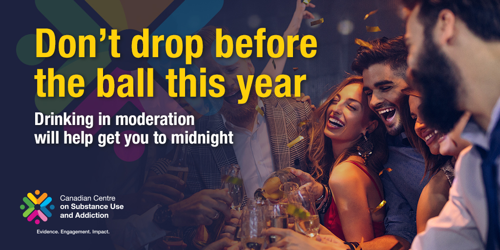 Don't Drop Before the Ball this Year: Drinking in Moderation Will Help Get You to Midnight