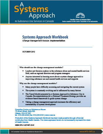 Systems Approach Workbook: Change Management Module: Implementation