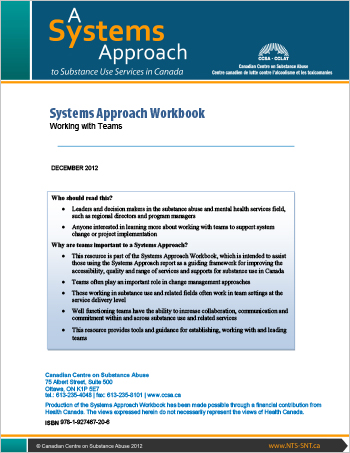 Systems Approach Workbook: Working with Teams